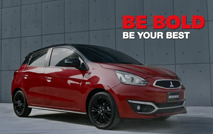 Mitsubishi Mirage - BE BOLD
